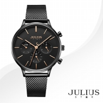[JULIUS STAR] 줄리어스 스타 JS005D 여성시계 메탈밴드 손목시계