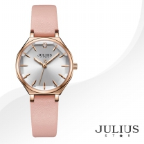 [JULIUS STAR] 줄리어스 스타 JS008B 여성시계 가죽밴드 손목시계