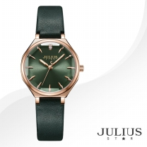 [JULIUS STAR] 줄리어스 스타 JS008D 여성시계 가죽밴드 손목시계