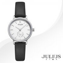 [JULIUS STAR] 줄리어스 스타 JS011A 여성시계 가죽밴드 손목시계