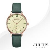 [JULIUS STAR] 줄리어스 스타 JS010D 여성시계 가죽밴드 손목시계