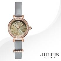 [JULIUS STAR] 줄리어스 스타 JS012C 여성시계 가죽밴드 손목시계