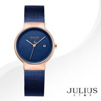 [JULIUS STAR] 줄리어스 스타 JS009LD 여성시계 메탈밴드 손목시계