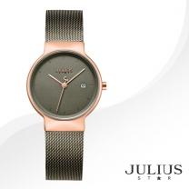 [JULIUS STAR] 줄리어스 스타 JS009LC 여성시계 메탈밴드 손목시계