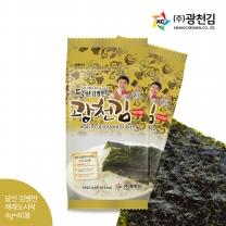 [광천김] 본사배송 달인 김병만의 광천김 재래도시락김 40봉