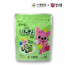 [광천김] 본사직배송 광천김 핑크퐁 키즈김자반 40g x 1봉