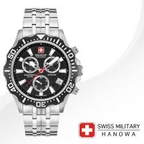 [SWISS MILITARY] 스위스밀리터리 06-5305.04.007 남성시계 메탈밴드 손목시계