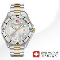 [SWISS MILITARY] 스위스밀리터리 06-5296.55.001 남성시계 메탈밴드 손목시계