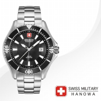 [SWISS MILITARY] 스위스밀리터리 06-5296.04.007 남성시계 메탈밴드 손목시계