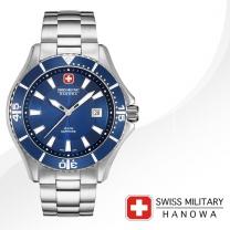 [SWISS MILITARY] 스위스밀리터리 06-5296.04.003 남성시계 메탈밴드 손목시계