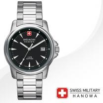 [SWISS MILITARY] 스위스밀리터리 06-5230.04.007 남성시계 메탈밴드 손목시계