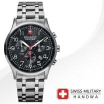 [SWISS MILITARY] 스위스밀리터리 06-5187.04.007 남성시계 메탈밴드 손목시계