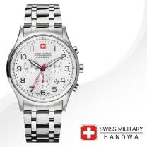 [SWISS MILITARY] 스위스밀리터리 06-5187.04.001 남성시계 메탈밴드 손목시계