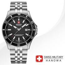 [SWISS MILITARY] 스위스밀리터리 06-5161.7.04.007 남성시계 메탈밴드 손목시계