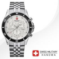 [SWISS MILITARY] 스위스밀리터리 06-5183.7.04.001.07 남성시계 메탈밴드 손목시계