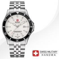 [SWISS MILITARY] 스위스밀리터리 06-5161.7.04.001.07 남성시계 메탈밴드 손목시계