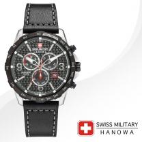 [SWISS MILITARY] 스위스밀리터리 06-4251.33.001 남성시계 가죽밴드 손목시계