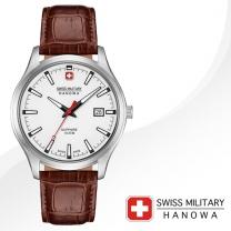 [SWISS MILITARY] 스위스밀리터리 06-4303.04.001 남성시계 가죽밴드 손목시계
