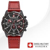 [SWISS MILITARY] 스위스밀리터리 06-4251.13.007 남성시계 가죽밴드 손목시계