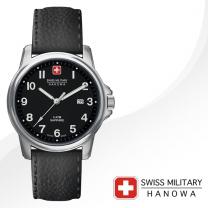 [SWISS MILITARY] 스위스밀리터리 06-4231.04.007 남성시계 가죽밴드 손목시계