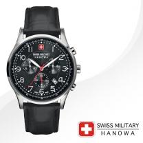 [SWISS MILITARY] 스위스밀리터리 06-4187.04.007 남성시계 가죽밴드 손목시계