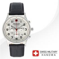[SWISS MILITARY] 스위스밀리터리 06-4187.04.001 남성시계 가죽밴드 손목시계