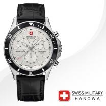 [SWISS MILITARY] 스위스밀리터리 06-4183.7.04.007 남성시계 가죽밴드 손목시계