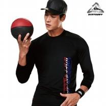 위프와프 스포츠웨어 긴팔라운드 티셔츠 남성 RL70227