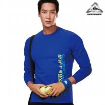 위프와프 스포츠웨어 긴팔라운드 티셔츠 남성 RL70228