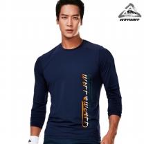 위프와프 스포츠웨어 긴팔라운드 티셔츠 남성 RL70229