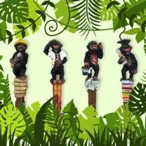 [쓸데없는 선물] 침팬지 볼펜