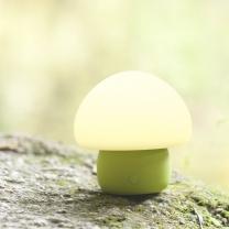 이모이 머쉬룸 램프(그린) 신생아수유등/무드등