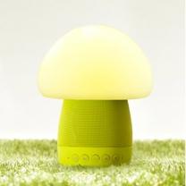 이모이 머쉬룸 램프 스피커(그린) 수유등/무드등