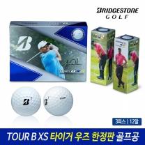 브리지스톤 TOUR B XS 타이거우즈 3피스 한정 골프공