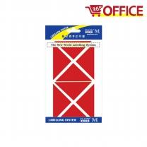 코너 보호 스티커 326-1 (빨강)