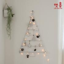 앳홈 스틸프레임 크리스마스 벽트리