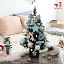 앳홈 블루펠트 크리스마스 미니트리 / 60cm