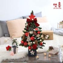 앳홈 레드펠트 크리스마스 미니트리 / 60cm
