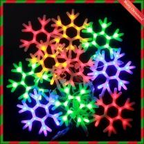 120구 LED 크리스마스조명 칼라전구(2.7M) (점멸有)