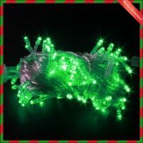 트리전구 LED 녹색전구 100구 투명선(8M)/인테리어전구