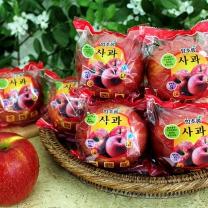 [함초롬] 껍질째 먹는 세척사과 3kg(13-15내)x2박스