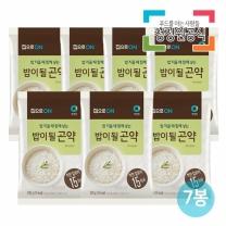 청정원 집으로on 밥이될곤약 150gx7개/곤약쌀