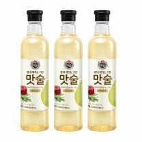 [CJ직배송]백설 맛술 로즈마리 800ml X 3개