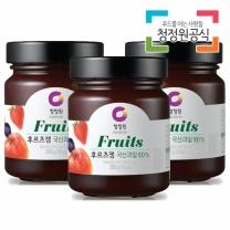 청정원 후르츠잼 280gx3개