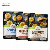 [풀무원 직배송] 사천식매콥 + 달콤씨앗 + 모짜렐라 호떡만두 (총 3봉)
