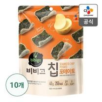 [CJ직배송]비비고칩 포테이토40g X 10개
