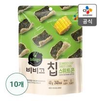 [CJ직배송]비비고칩 스위트콘40g X 10개