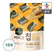 [CJ직배송]비비고칩 오리지널 40g X 10개