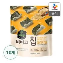 [CJ직배송]비비고칩 오리지널 20g X 10개