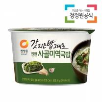 청정원 갓지은밥그대로 진한사골미역국밥 82.4g